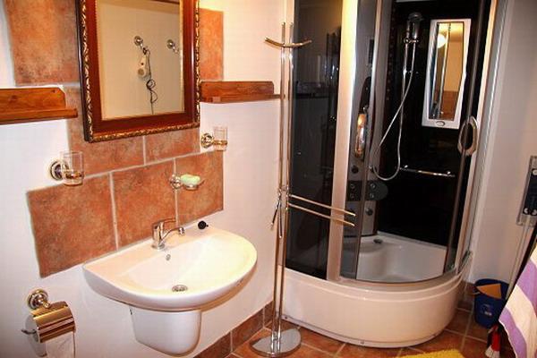 Jižní Čechy - penziony - Penzion v Pošumaví - koupelna